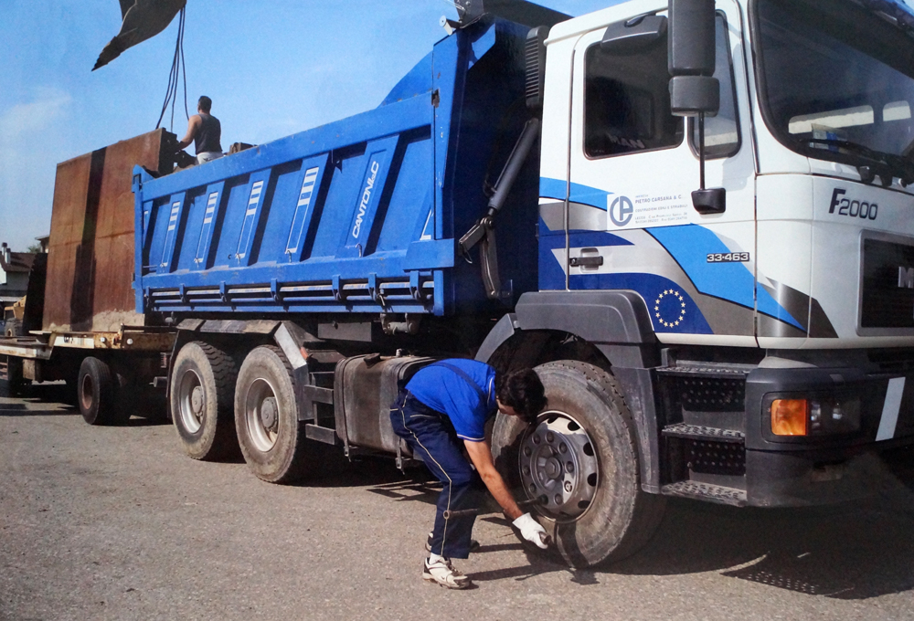 gomme-camion